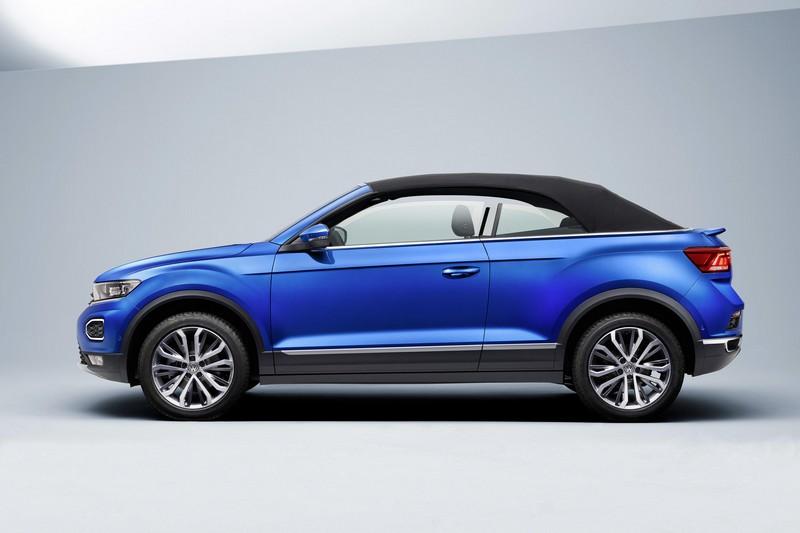 T-Roc敞篷基本與一般車型相同,為一不同之處便是採雙門設定。