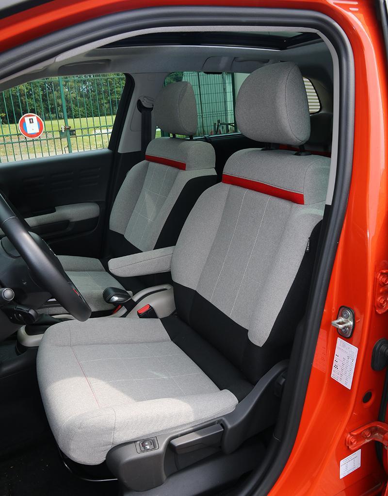 像是小沙發的前座椅,提供同級車難以企及的舒適性。