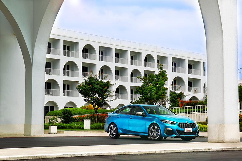 BMW M235i Gran Coupe四門Coupe設計,絕對是彰顯品味的最佳車款。