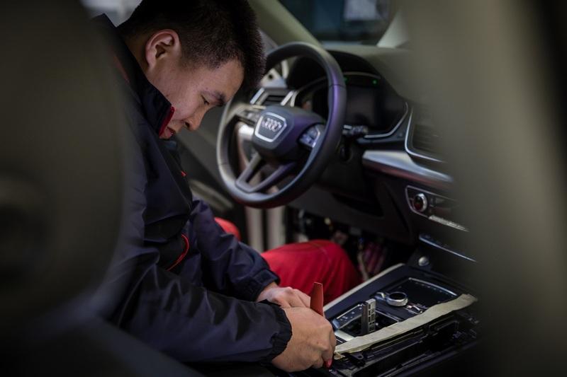 台灣奧迪早已著手人員技術培訓計劃,並於Audi Twin Cup全球售後服務競賽中獲得全球第七名的成績。