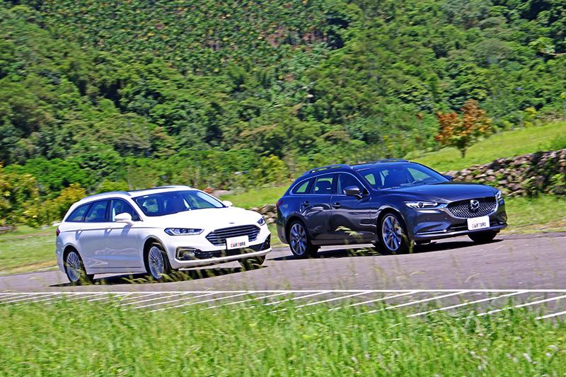 要美型要質感選Mazda6 Wagon,要運動要操駕樂趣選Mondeo Wagon,雖同為旅行車但卻定義出不同的市場需求