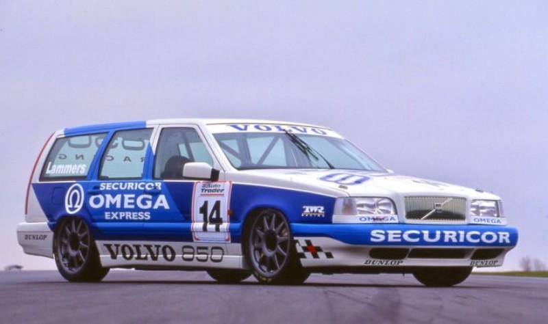 Volvo也是90年代旅行車專科之一,其中850 Wagen更曾在1994年參戰BTCC英國房車錦標賽。
