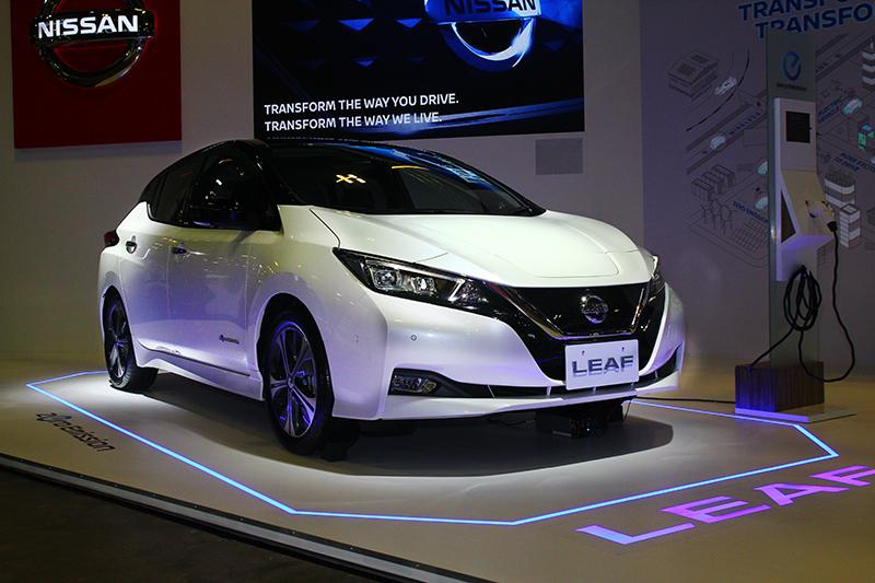 Nissan Leaf電動車今年也會導入國內。