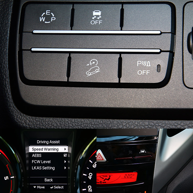 2019年式車款增添陡坡緩降系統,而原先的安全配備便已經相當齊全。