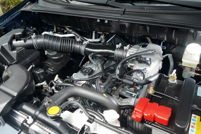 動力輸出依舊與改款前相同,使用的是2.4升四缸自然進氣引擎