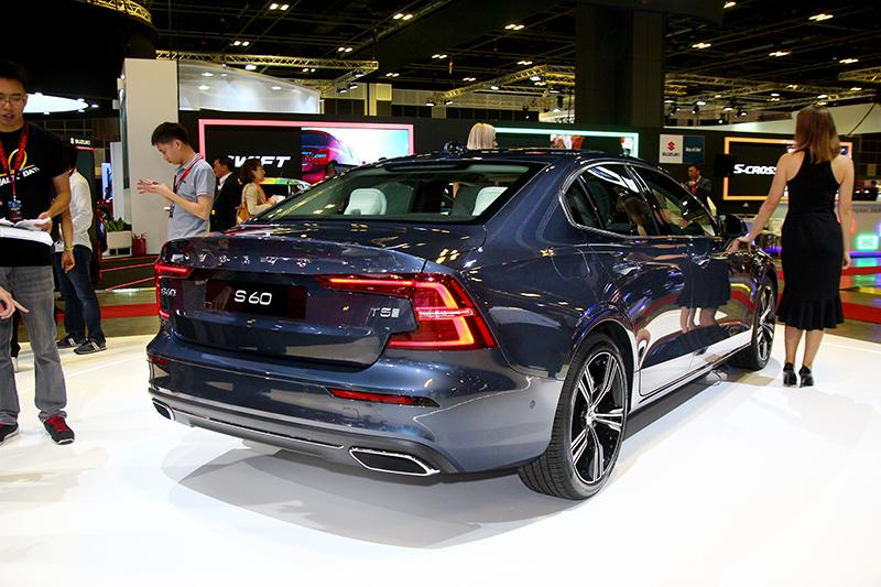 Volvo S60雖已推出一段時間,但這可是首次現身於亞太區車展。