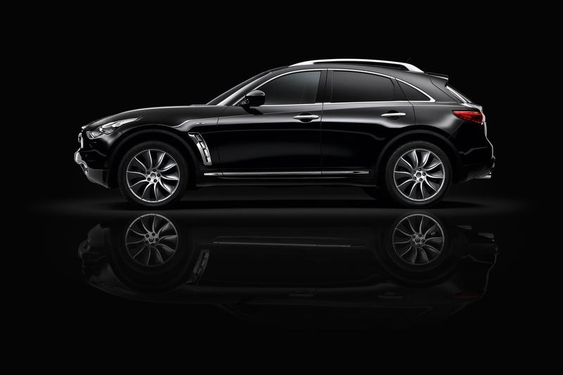 QX55跑車Coupe線條源自於FX車系。