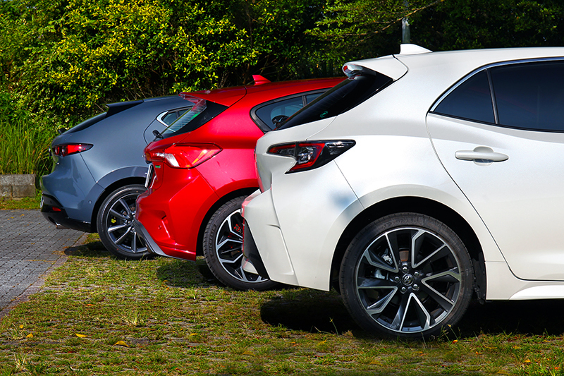 Toyota Corolla Sport、Mazda3與Ford Focus正面對決,究竟孰強孰更強請接續鎖定《CARTURE 車勢文化》報導!