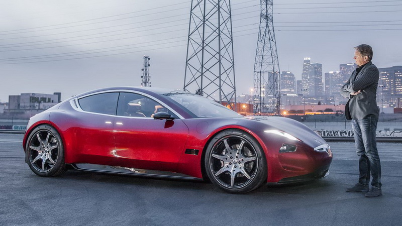圖為Fisker Emotion電動房車