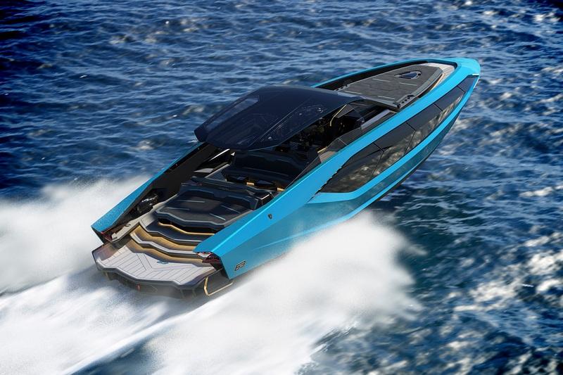 該遊艇以Sián做為設計理念,因此整艘有著鮮名的品牌風格。