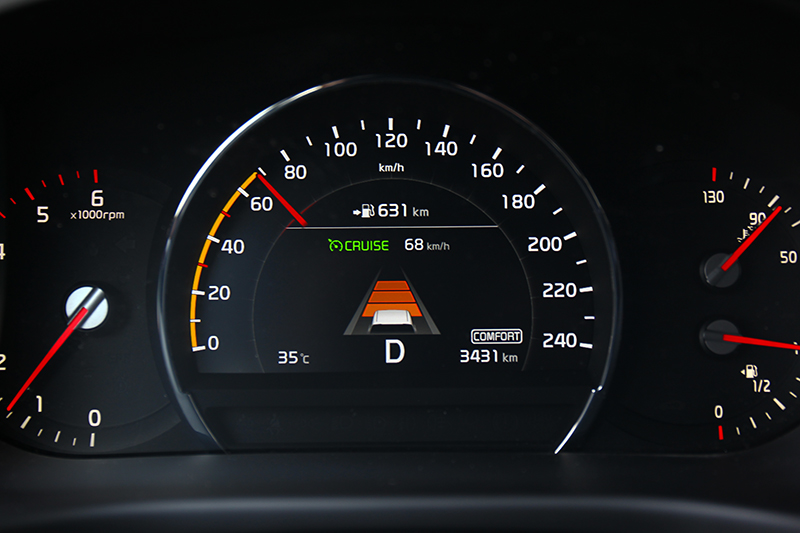小改車型全車系都配備SCC全速域主動車距巡航系統、盲點偵測、車道變換輔助、後方車側交通警示等。