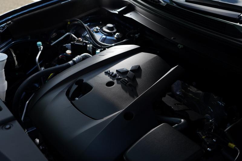 動力仍維持2.4升MIVEC引擎搭配INVECS III-CVT無段變速系統