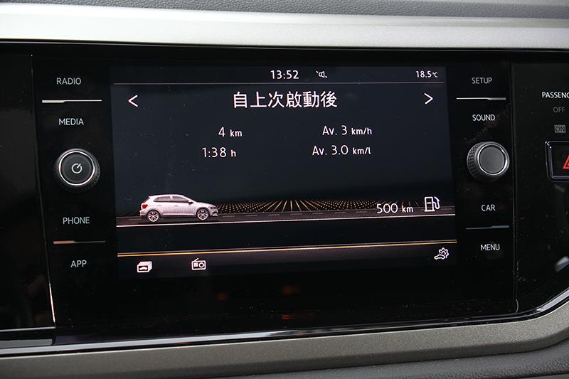 MIB II多媒體資訊娛樂系統,鏡面觸控面板有著極為靈敏的操作反應。