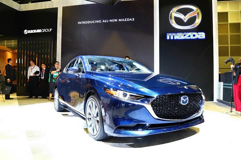 新Mazda 3車頭變得相當具有質感大器。