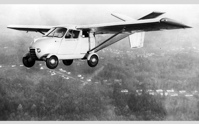 1949年的Taylor相當接近飛機與汽車結合的樣貌。