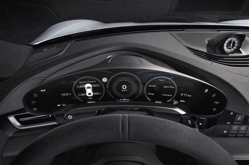 儀表也採用數位化設計,但仍保留Porsche精神。