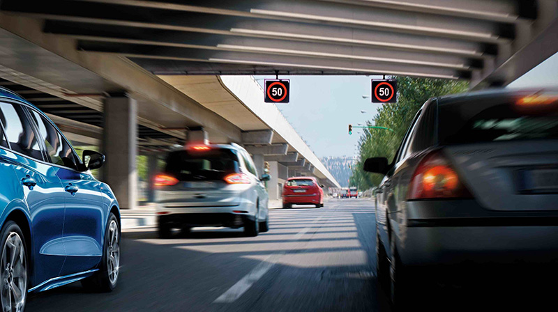 New Ford Focus 20.5年式搭載Ford Co-Pilot360全方位智駕科技輔助系統之車型,同步歐盟法規新增ISA智慧型速限輔助系統。