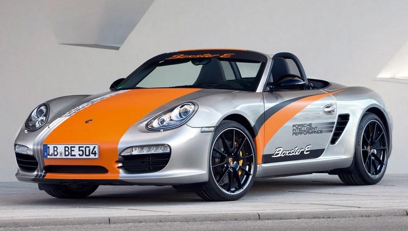 其實在2011年Porsche就有推出Boxster E電動測試車。