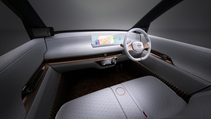 IMk Concept具備自動駕駛能力,因此座艙相當簡潔。