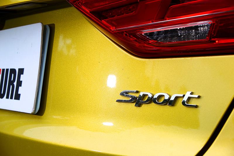 自Civic掀背與Impreza GT後,有多久沒見過國產車膽敢名正言順掛上象徵速度的銘牌了?