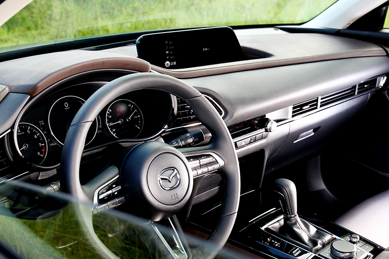 CX-30座艙高級感氛圍連豪華品牌入門車型都難以媲美。