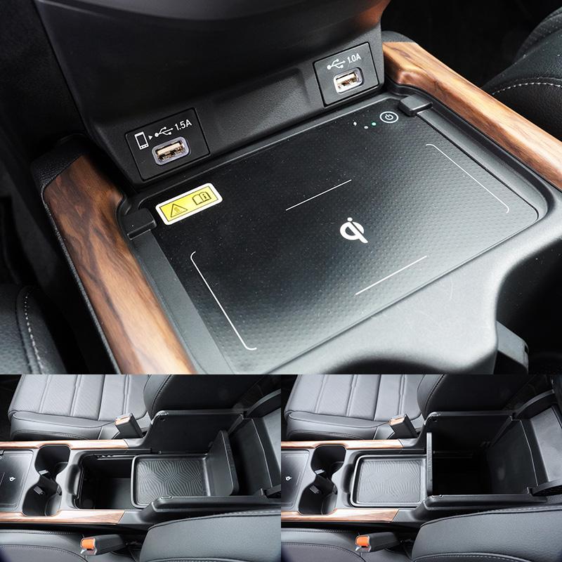 本次試駕之頂規S車型與VTi-S車型增加了無線充電座,同時也調整了前座USB連接埠的位置,讓與智慧型手機之充電及連接便利性提升。