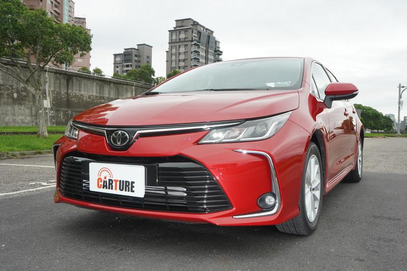 價格壓在80萬內的Altis 1.8升汽油版為市場銷售主力