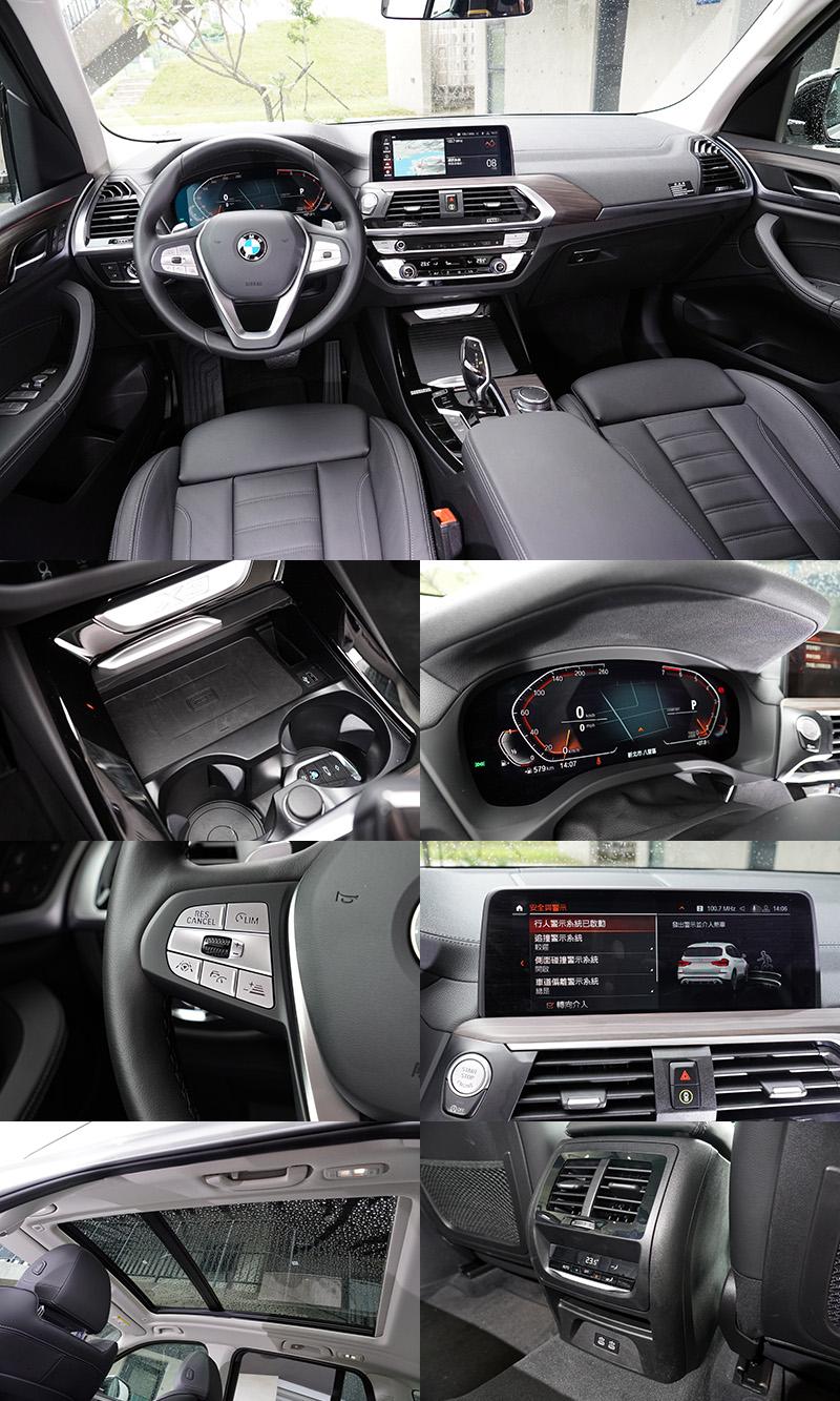 在這兩款車上包括:全套BMWPersonal CoPilot智慧駕駛輔助科技、BMW全數位虛擬座艙以及iDrive 7.0介面、無線充電、後座USB與全景式天窗都是標配
