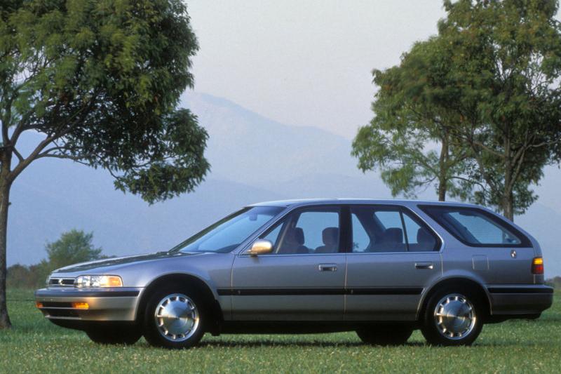90年代前,旅行車主要仍被賦予較濃厚的工作屬性。(圖為四代Honda Accord Wagon)