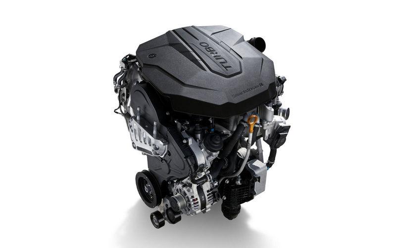 2.2升柴油引擎本體改以鋁合金打造,因此重量減輕19.5公斤。