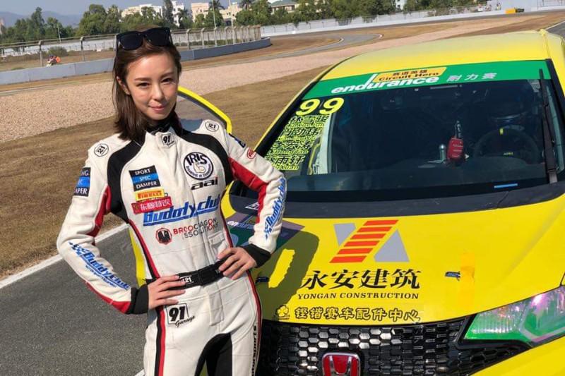 賽車手Iris艾莉絲赴珠海國際賽車場參賽