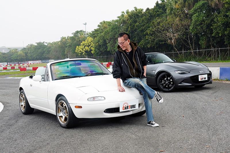 龍劭華最寶貝這台車,目前這台車也從未讓其他人開過。