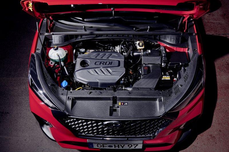 Tucson N Line最大特點便是針對1.6升/2.0升柴油引擎導入48V系統。