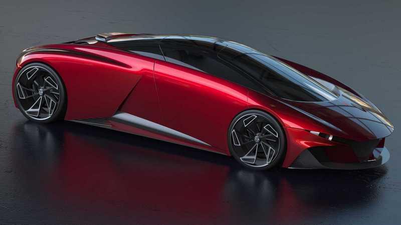 汽車藝術家Joseph Robinson設計出他心中的Mazda跑車。