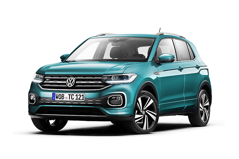 T-Cross擁有Volkswagen家族最新設計。