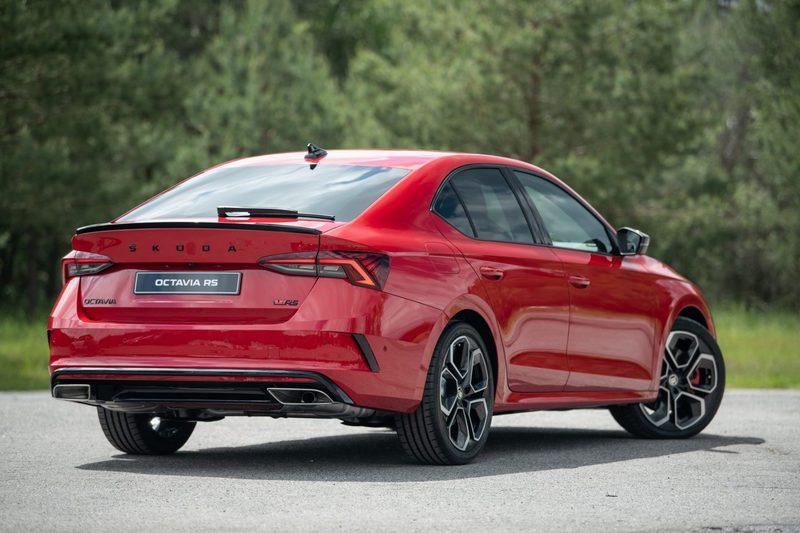 Octavia RS柴油車型可選配四輪驅動系統。