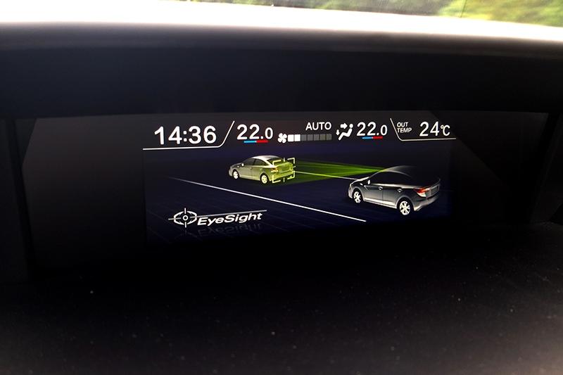 ACC主動式定速巡航控制系統擁有0~180km/h全速域功能。