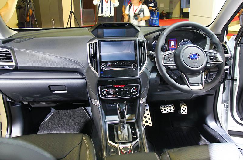 座艙設計鋪陳仍維持與一般Forester車型相同。