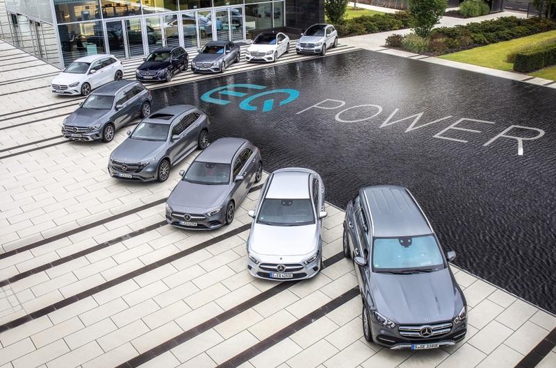 未來EQ電能系統會陸續運用至旗下所有車型。