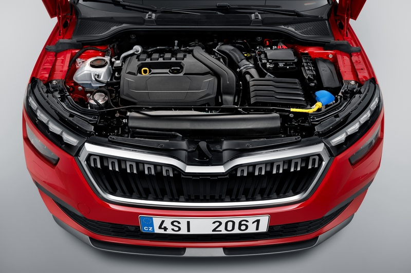 Kamiq擁有三款汽油、一款柴油與天然氣五種動力規格。