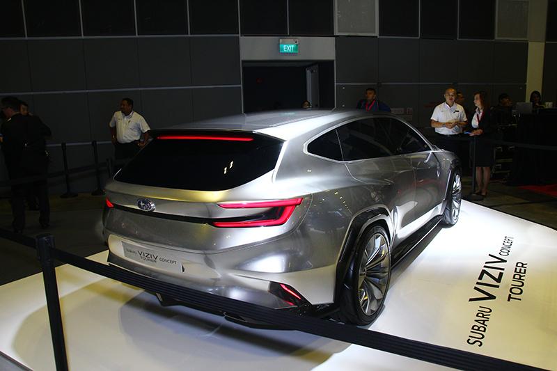 Viziv Tourer Concept也現身新加坡車展。