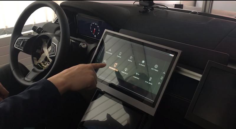 Jaguar Land Rover開發非接觸式螢幕技術。