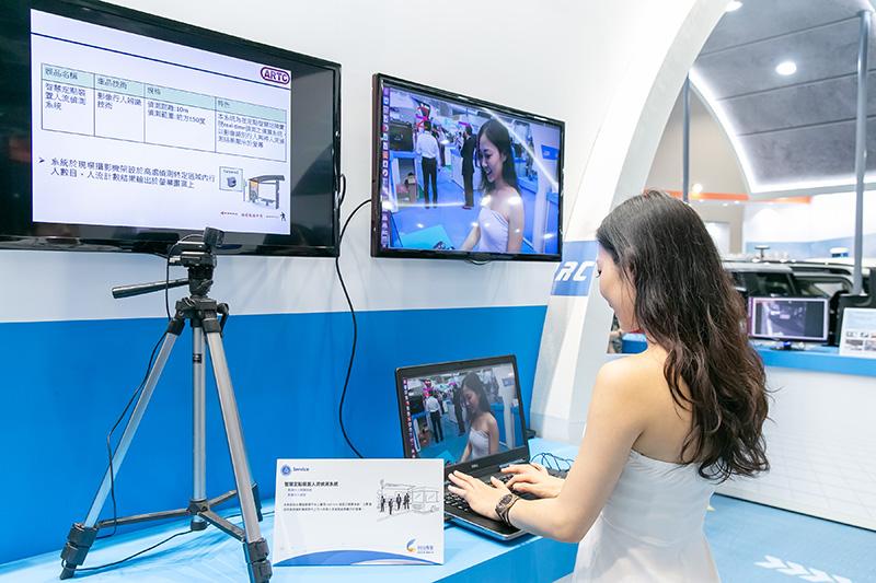 亮點展品-8-智慧定點裝置人流偵測系統