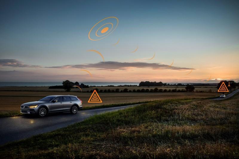 Volvo與中國聯通合作開發5G,加速研發V2X通訊技術。