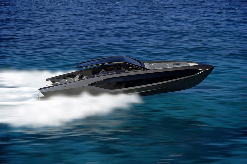 Lamborghini與Tecnomar合作推出遊艇。