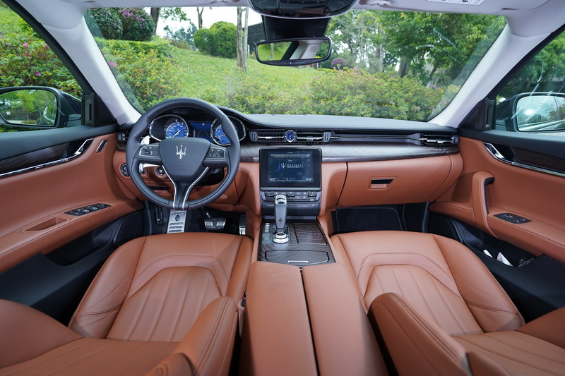 宛如頂級精品一般的內裝氛圍向來是Maserati的強項