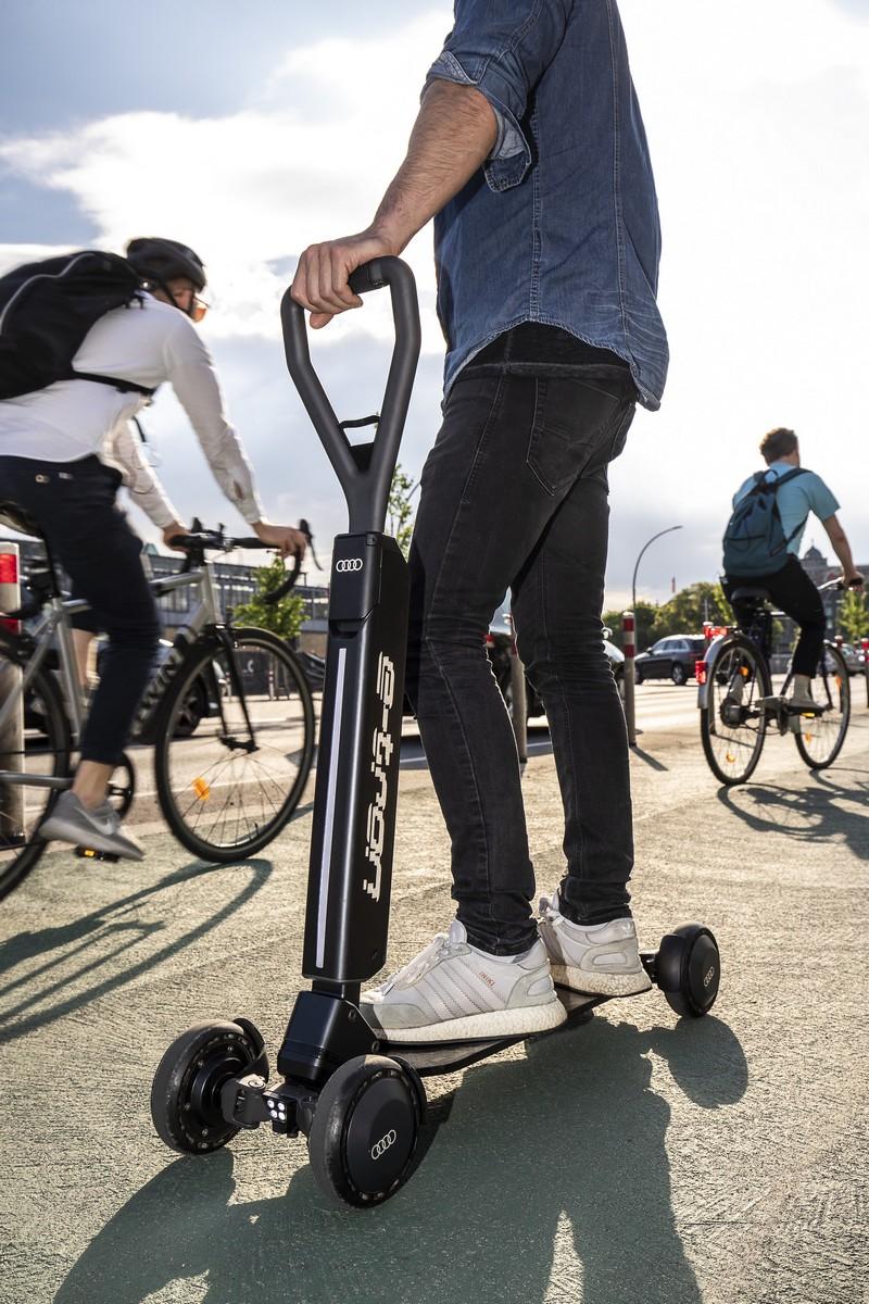 Audi e-tron電動滑板車2020年就會上市販售。