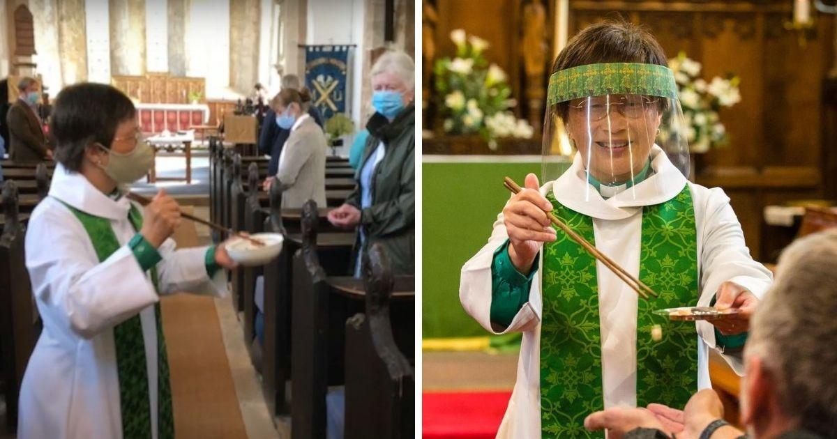 新加坡牧師開大招!以筷子發聖餐防疫 - Yahoo奇摩新聞