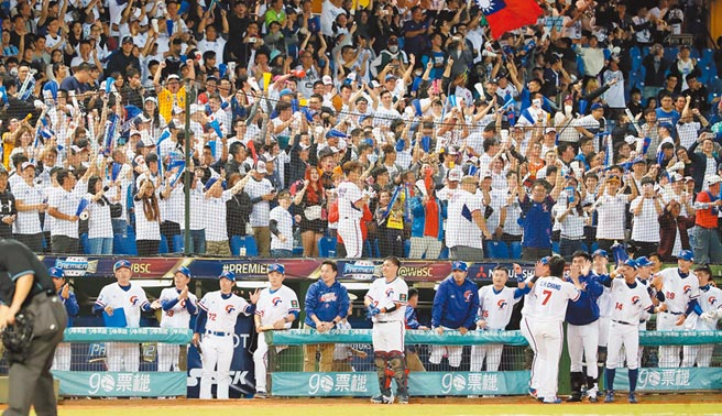 台灣球迷想要再次看到中華隊的奮戰表現,必須要等到6月17日了。(本報資料照片)