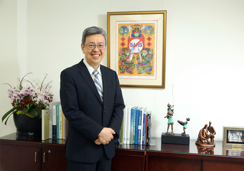 前副總統陳建仁。張智傑攝